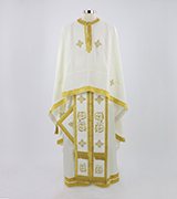 Embroidered Priest Vestment - 580