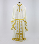 Embroidered Priest Vestment - 585