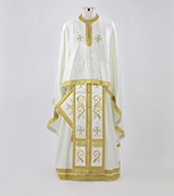 Embroidered Priest Vestment - 590