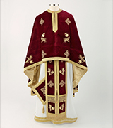 Embroidered Priest Vestment - 600