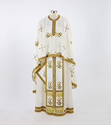 Embroidered Priest Vestment - 605