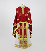 Embroidered Priest Vestment - 640