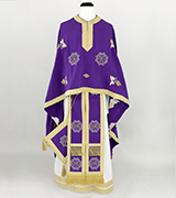 Embroidered Priest Vestment - 665