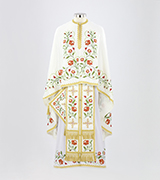 Embroidered Priest Vestment - 690