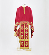 Embroidered Priest Vestment - 695