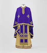 Embroidered Priest Vestment - 700