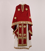Embroidered Priest Vestment - US40847