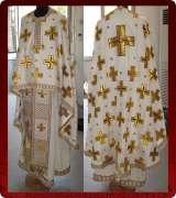 Woven Priest Vestment - 163