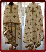 Woven Priest Vestment - 166
