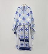 Woven Priest Vestment - 310