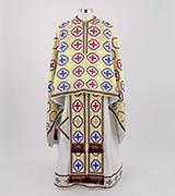 Woven Priest Vestment - 335