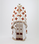 Woven Priest Vestment - 345