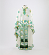 Woven Priest Vestment - 420