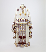 Woven Priest Vestment - 425