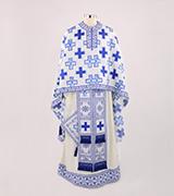 Woven Priest Vestment - 455