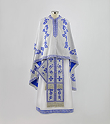 Woven Priest Vestment - 495