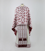 Woven Priest Vestment - 515