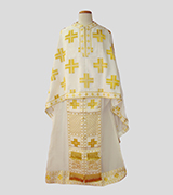 Woven Priest Vestment - 555