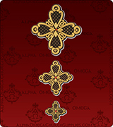 Priest Vestments Emblem - US450