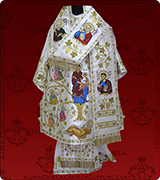 Embroidered Episcopal Vestments - 115