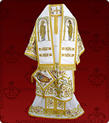 Embroidered Episcopal Vestments - 117