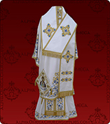 Embroidered Episcopal Vestments - 122