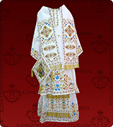 Embroidered Episcopal Vestments - 125
