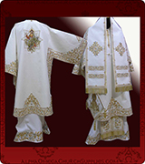 Embroidered Episcopal Vestments - 137
