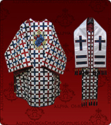Embroidered Episcopal Vestments - 160