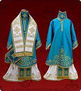 Embroidered Episcopal Vestments - 174