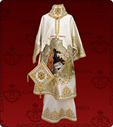 Embroidered Episcopal Vestments - 184
