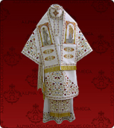 Embroidered Episcopal Vestments - 186