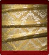 Metallic Brocade Fabric - 330-WS-GS-GM