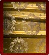 Metallic Brocade Fabric - 335-GS-BR-GM