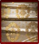 Metallic Brocade Fabric - 335-WS-GS-GM
