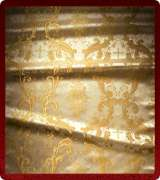 Metallic Brocade Fabric - 345-WS-GS-GM