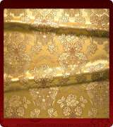 Metallic Brocade Fabric - 350-GS-BR-GM