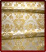 Metallic Brocade Fabric - 350-WS-WS-GM