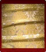 Metallic Brocade Fabric - 355-WS-WS-GM