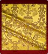 Metallic Brocade Fabric - 365-GS-BR-GM