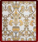 Metallic Brocade Fabric - 365-WS-DB-GM