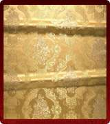 Metallic Brocade Fabric - 375-GS-GM-GM