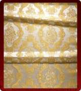 Metallic Brocade Fabric - 375-WS-WS-GM