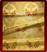 Metallic Brocade Fabric - 380-GS-NO-GM