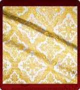 Metallic Brocade Fabric - 395-WS-GS-GM