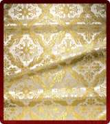 Metallic Brocade Fabric - 395-WS-WS-GM