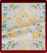 Metallic Brocade Fabric - 400-WS-GS-GM-GS