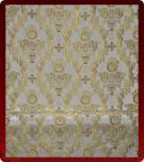 Metallic Brocade Fabric - 425-WS-GS-GM