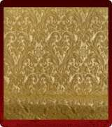 Metallic Brocade Fabric - 440-GS-GS-GM
