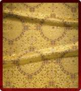 Metallic Brocade Fabric - 445-GS-BR-GM